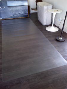 "CHAIR MAT FOR HARD FLOORS -NEW- CUSTOM SIZE (4'8""W x 10'8""L)"