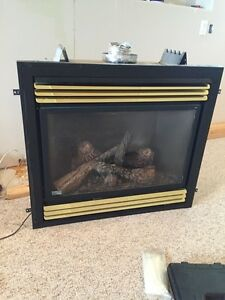 Napolean gas fire