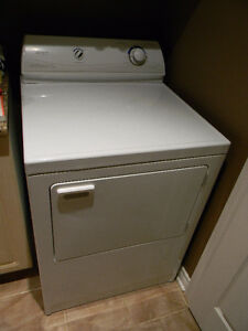 Sécheuse Maytag Dryer (blanche/white) Doit partir! Must go!