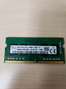 Hynix 4GB 1R×16 PC4 2400T LAPTOP MEMORY