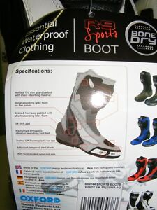 OXFORD - BONE DRY Boots - NEW at RE-GEAR Kingston Kingston Area image 5