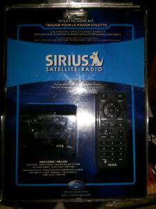 Sirius Satellite Radio Stiletto Home Kit New In Package