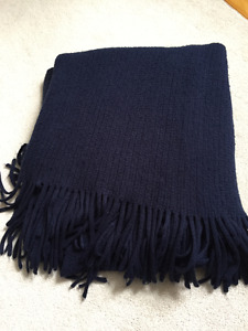 Blue Blanket Throw