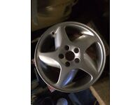 Volvo t5 refurbished alloy wheels set of tyers 5x108 same as ford jag