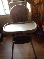 Kids graco feeding high chair