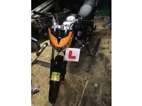Zontes Panther learner legal motorbike
