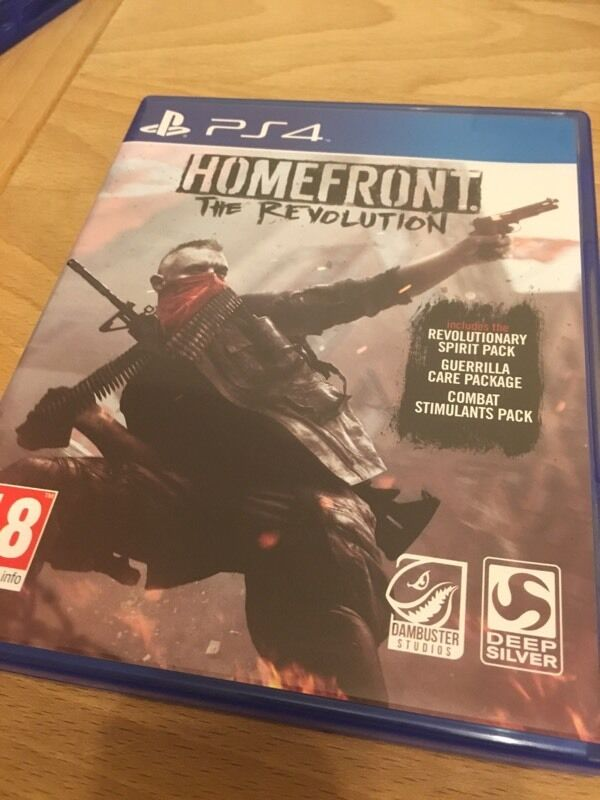 Homefront the revolution for PS4