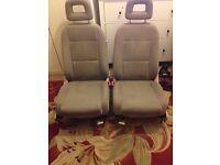 Audi a2 interior seats beige colour 4 seater