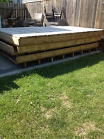 Deck sections $300 PER section