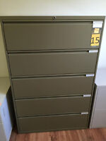 5 Drawer Lateral Filing Cabinet.