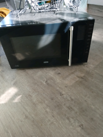 Black microwave/oven/grill