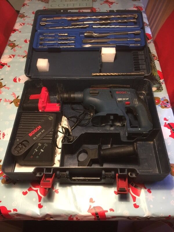 Bosch GBH 24v hammerdrill