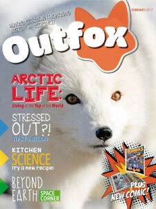 Outfox, Monthly Magazine for Autistic & ADHD Kids