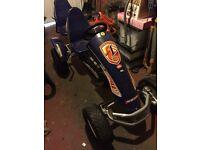 Berg 2 seater pedal go kart