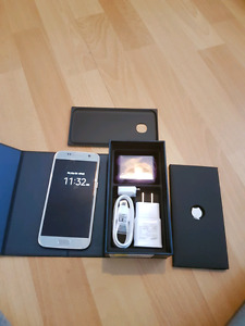 BRAND NEW SAMSUNG GALAXY S7 32GB TITANIUM FOR TADE