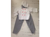 Kids chef dressing up outfit
