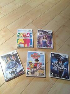 Ensemble de jeux de Wii
