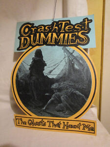 Crash Test Dummies - 2 Sided Hanging Cardboard Poster