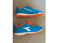 Diadora Royal/Red Fluo Trainers