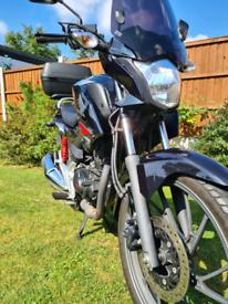 Honda CB125F 2017 Low Mileage & Extras