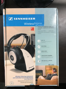 New Sennheiser Wireless Headphones