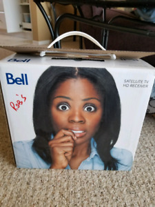 Bell satellite tv HD reciever 6400 and dish