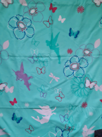 Disney Mint Green Fairy Curtains