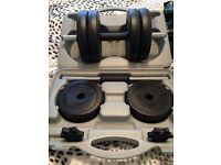 Lonsdale Dumbbells set