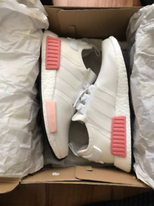 NMD White Rose - new - Size 8