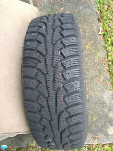 4 Nokian Nordman Winter Snow Tires
