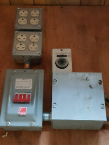 3 -420 frendly breaker panel with timer...