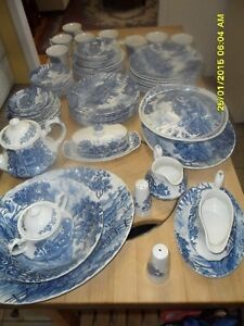 Dishes/Royal Essex/Shakespear Country Blue London Ontario image 6
