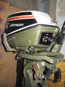 Johnson 6 hp -  trade for short/std shaft outboard