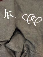 Johnny Reid official hoodie size L, grey, new, Valentine