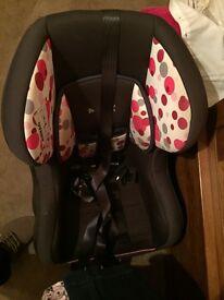 Baby weaver isofix child seat
