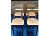 Ikea Beech dining chairs