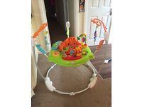 Baby Fischer Price Jumperoo and Cradle Swing