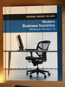 Textbook - Modern Business Statistics 5e