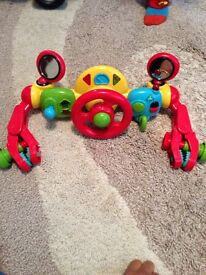 Pushchair toy and fan