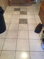 Tile Repairs, installation services.