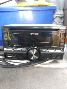 Kenwood double din cd player