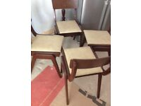 Dining Chairs - Faux Leather - MUST GO
