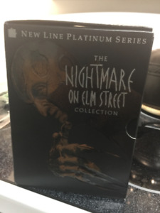 The Nightmare On Elm Street DVD Boxed Set Collection