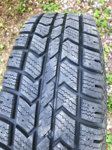 225/75/R16 snow tires and rims