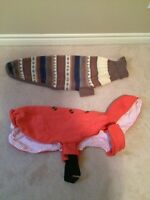 Set of 2 L/XL Dog Sweaters