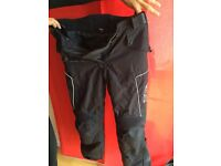 Dual layer motorbike trousers