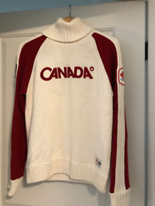 2010 Vancouver Canada Olympic Sweater. Like new.