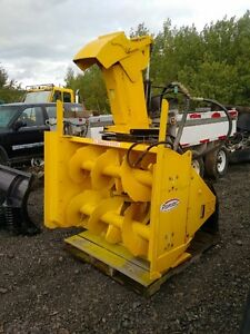 Pronovost Hydraulically Snowblower with Skid Steer Quick Attach