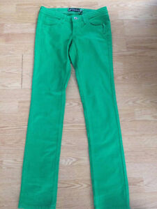 Pantalons Vert VOLCOM Taille 3