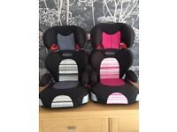 Graco Logico high back booster seats